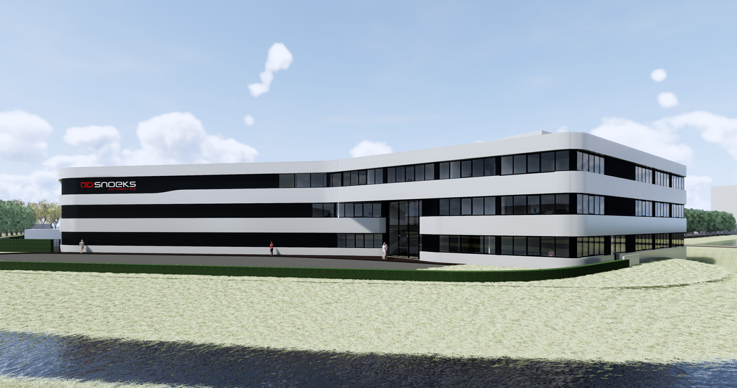 Baubeginn des Snoeks-Innovationszentrums