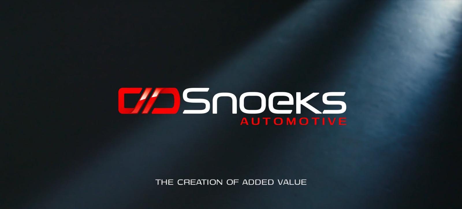 Snoeks Automotive mit neuem Logo bereit für die Zukunft