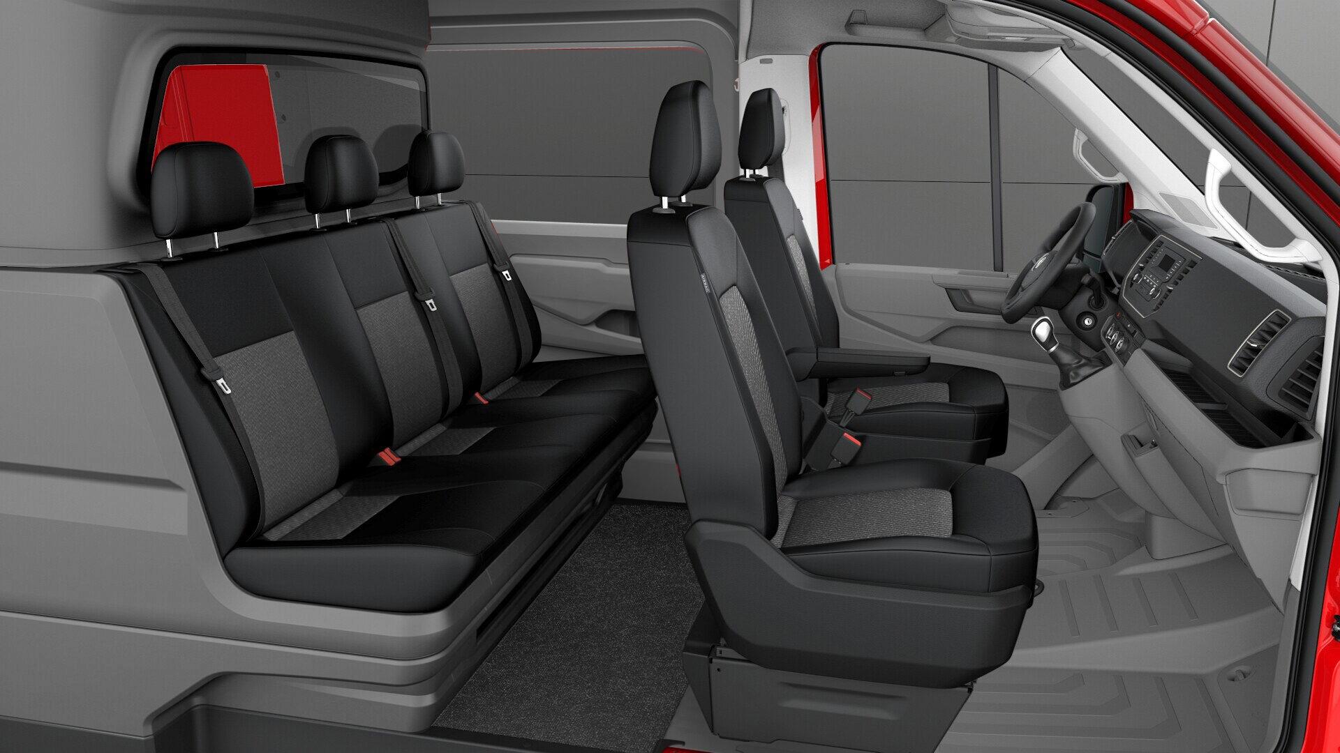 Volkswagen Crafter Crew Van by Snoeks
