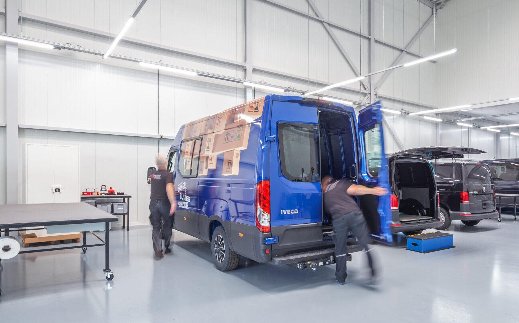 Crew Van conversions by Snoeks